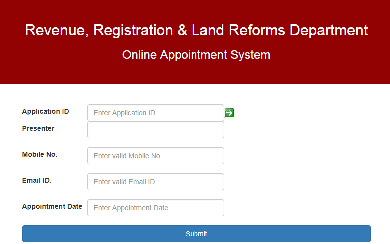 Jharkhand-Property-Registration-Online-Appointment
