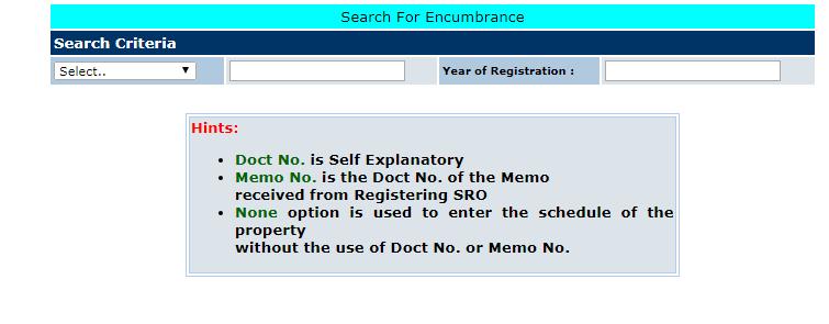 Telangana-Encumbrance-Certificate-Track-Applicant