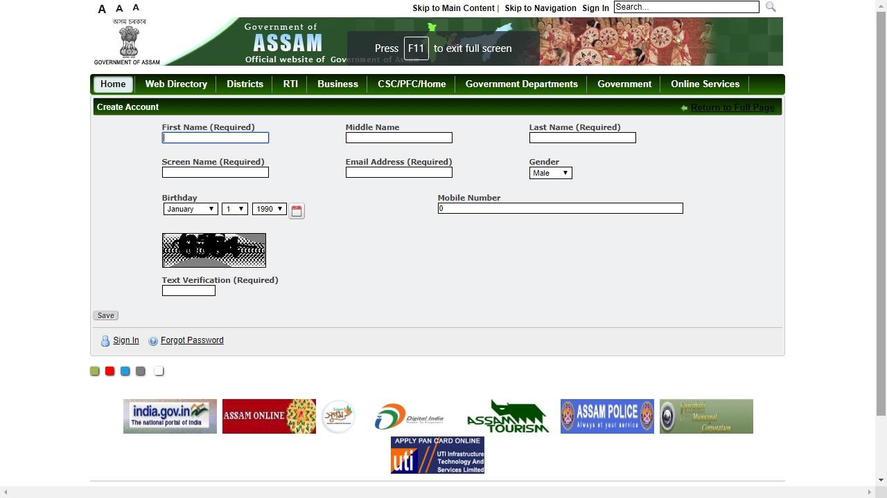Image 3 Assam Land Holding Certificate