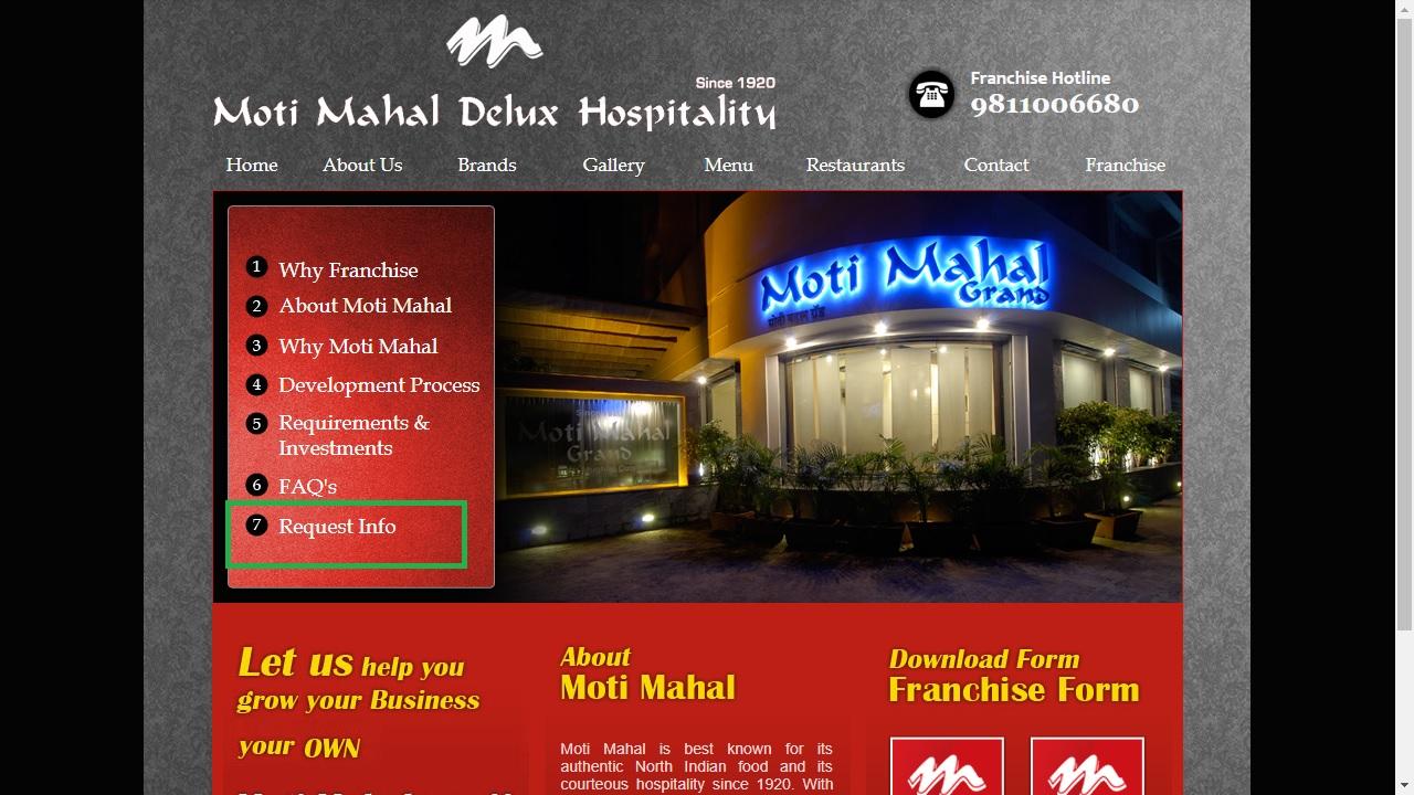 Image 3 Moti Mahal Restaurant Franchise (2)