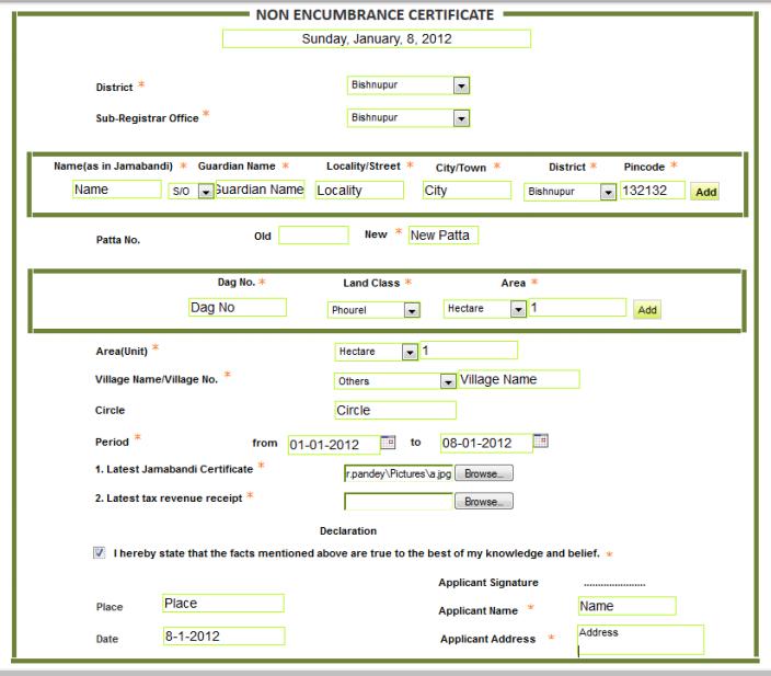 Manipur-Non-Encumbrance-Certificate-e-form
