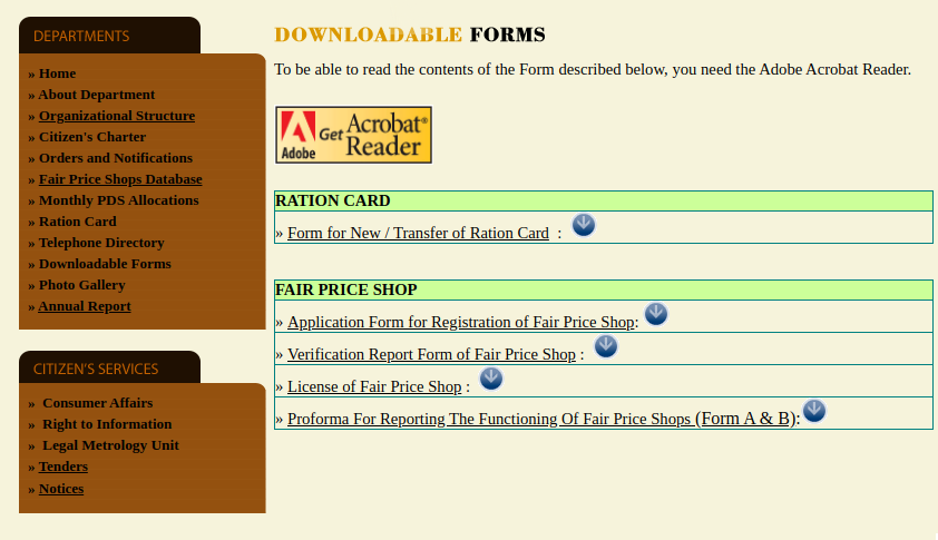 Sikkim-Ration-Card-Form-For-New-Card