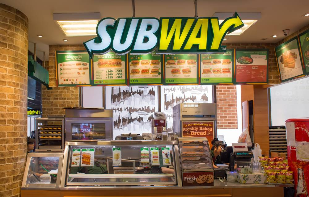 Subway Franchise Eligibility Investment Required