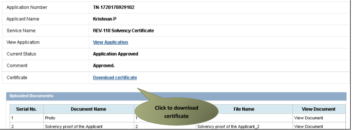 Tamil-Nadu-Solvency-Certificate-Download-certificate