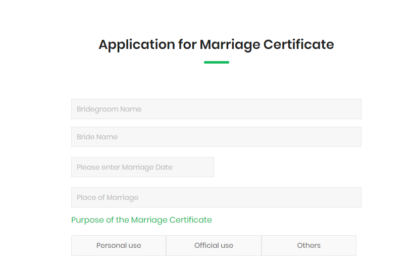 Application Form Puducherry Marriage Certificate