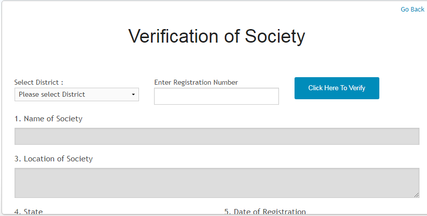 Haryana Society Registration - Application Procedure - IndiaFilings