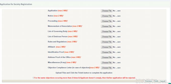 Jharkhand Society Registration - Application Procedure - IndiaFilings