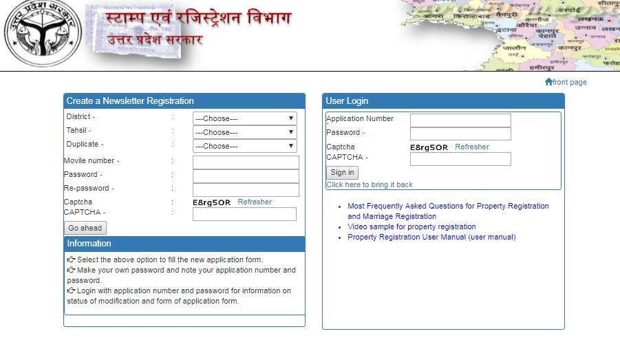 Uttar Pradesh Property Registration - IndiaFilings