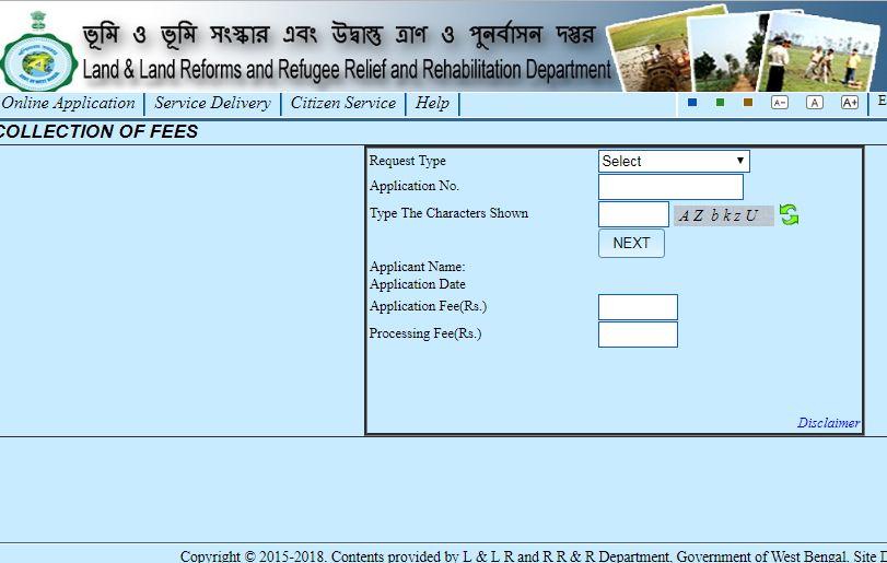 Step 6 - West Bengal Land Mutation