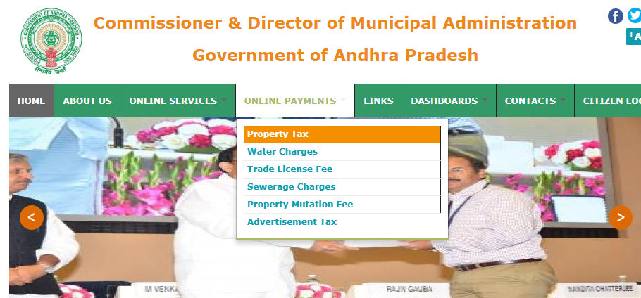 Andhra Pradesh Property Tax - Home Page