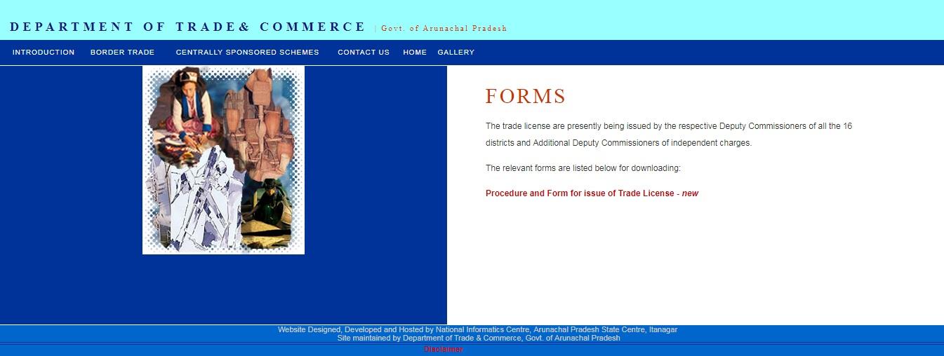 Arunachal Pradesh Trade License. 3