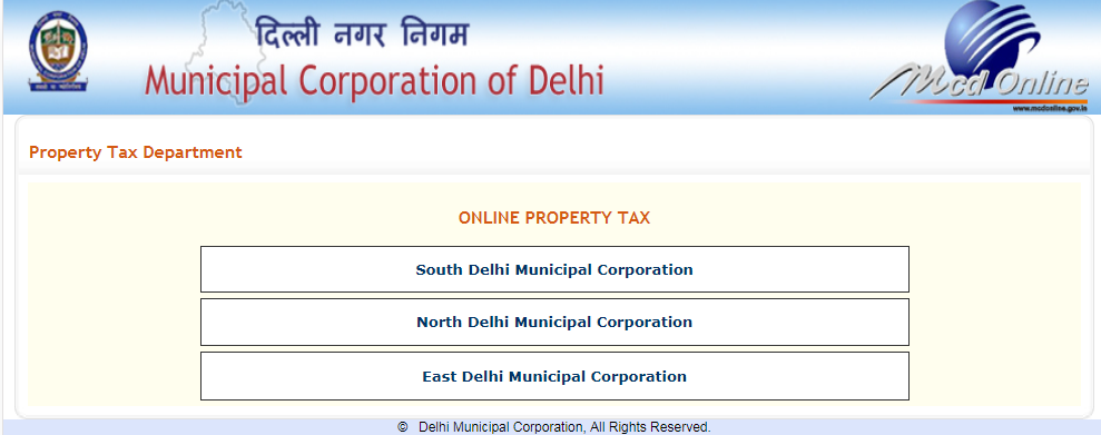 Delhi Property Tax - Due Date & Payment - IndiaFilings