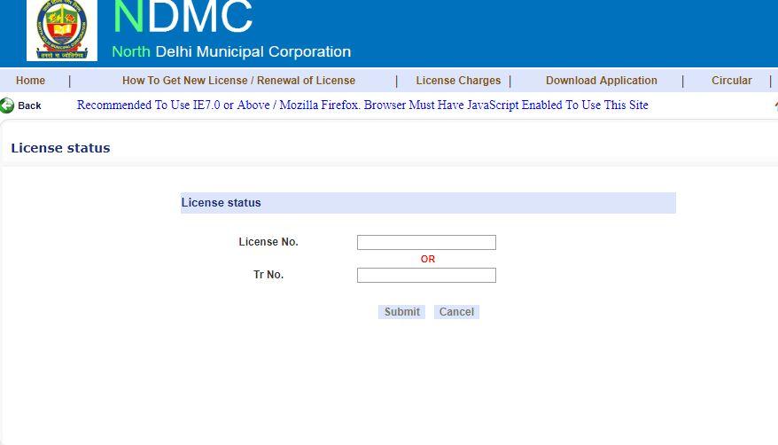 Delhi Trade License - Online Application Procedure - IndiaFilings