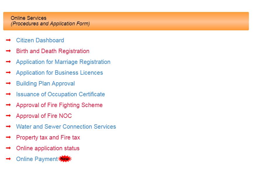 Haryana Property Tax - Online Service