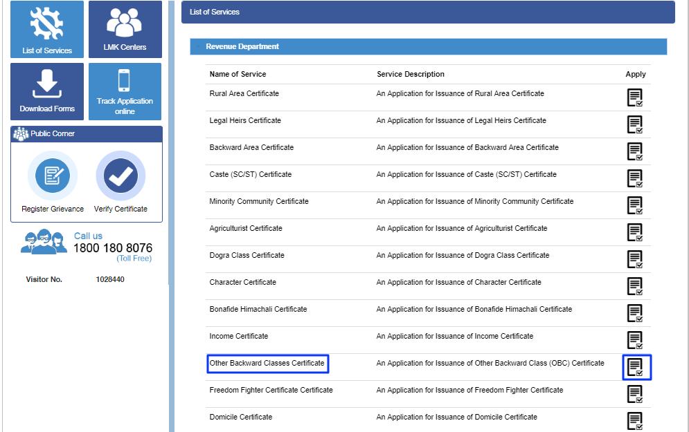 Himachal-Pradesh-Non-Creamy-Layer-Certificate-Services