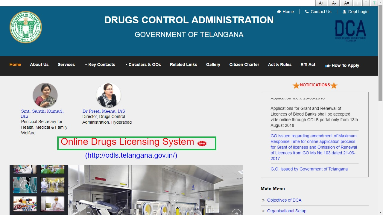 Telangana Drug License - Application Procedure - IndiaFilings