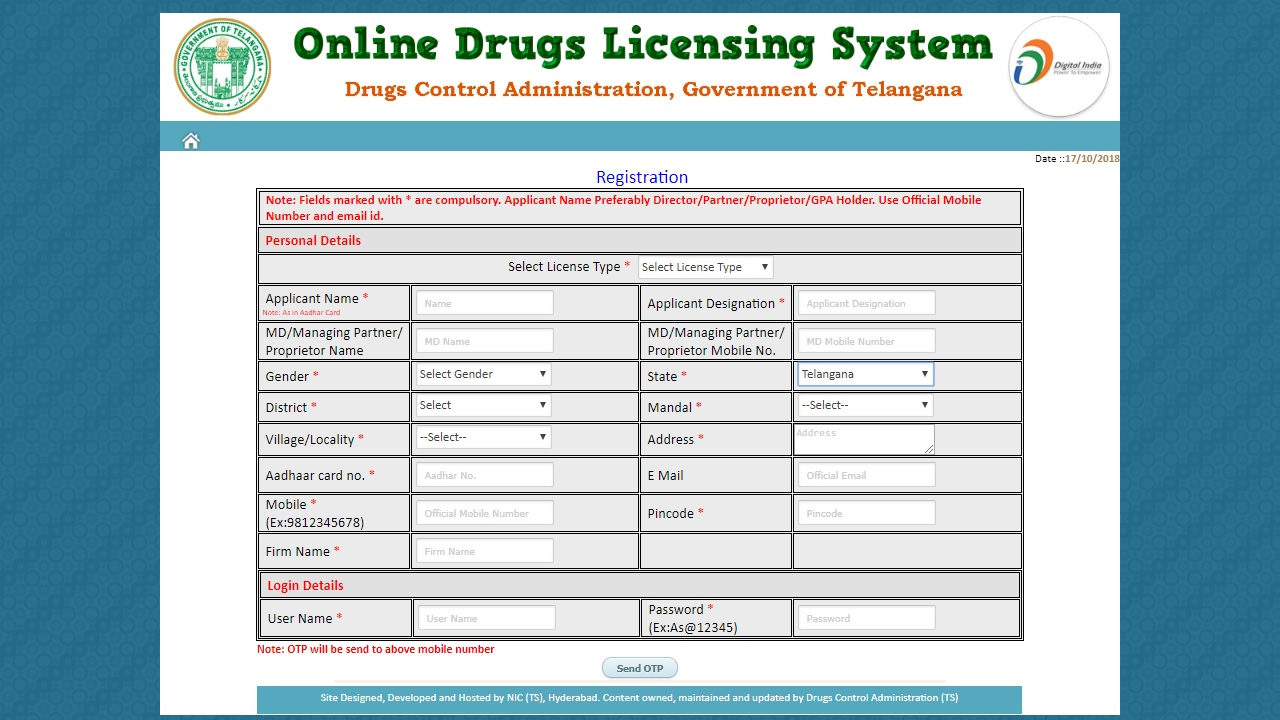 Image 3 Telangana Drug License