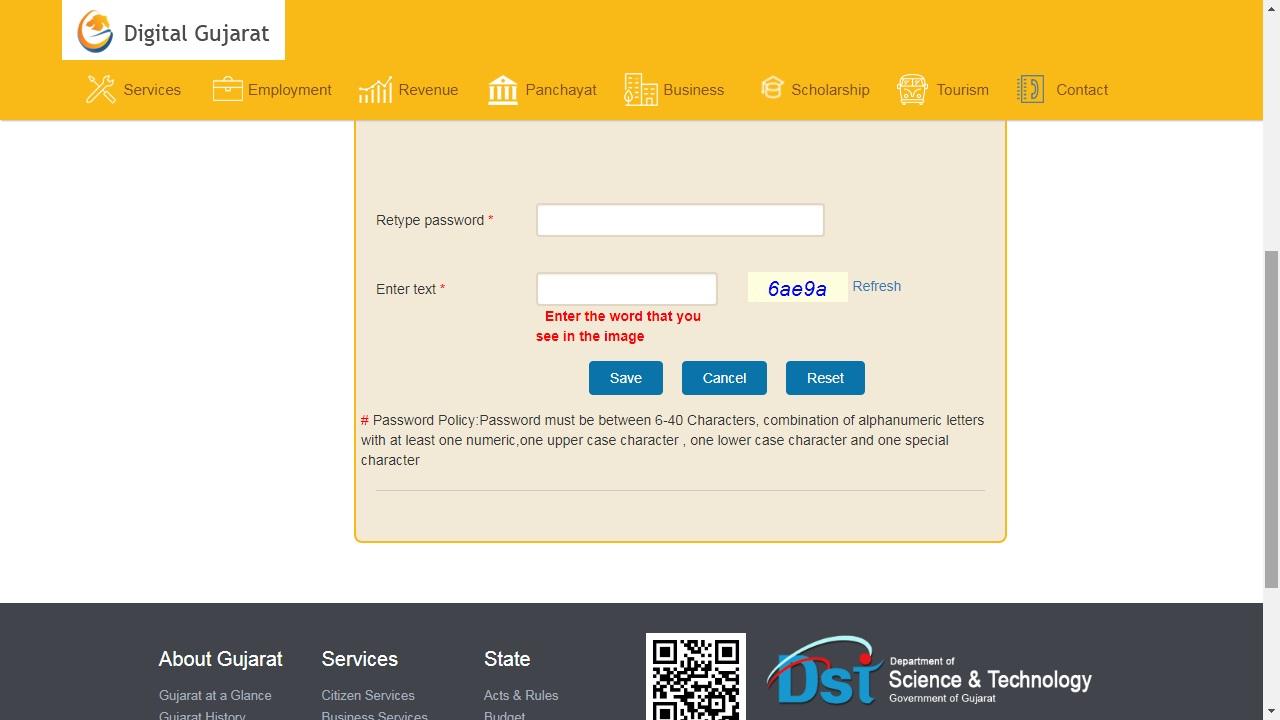Gujarat Minority Certificate - Application Procedure