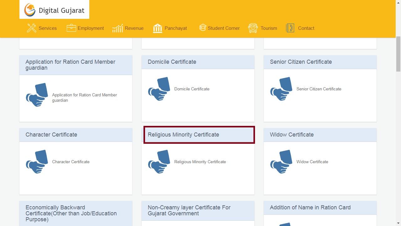 Image 7 Gujarat Minority Certificate