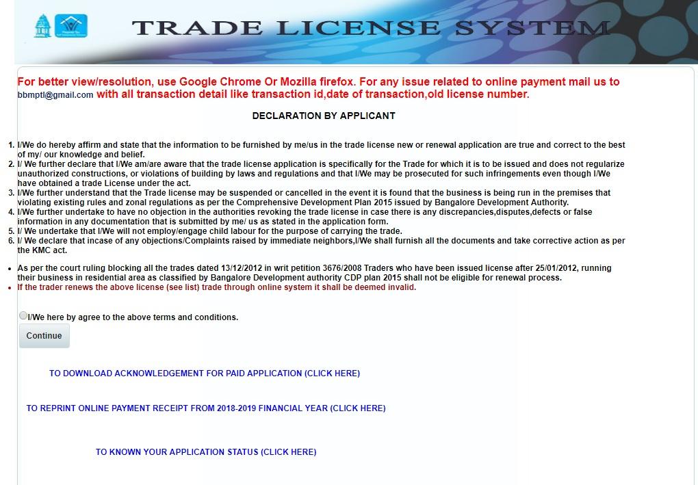 Karnataka Trade License. 5