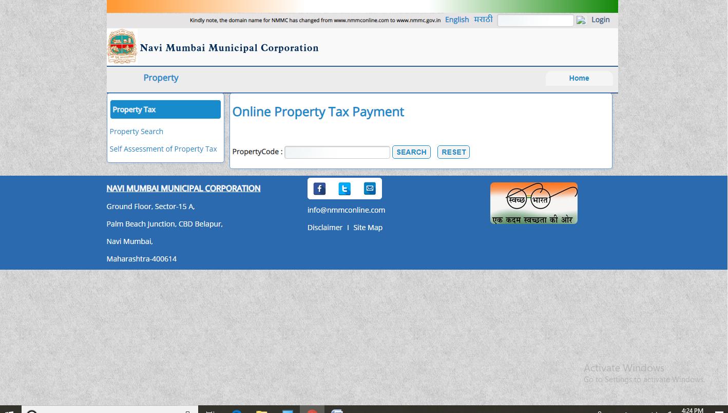 Mumbai-Property-Tax-Online-Payment