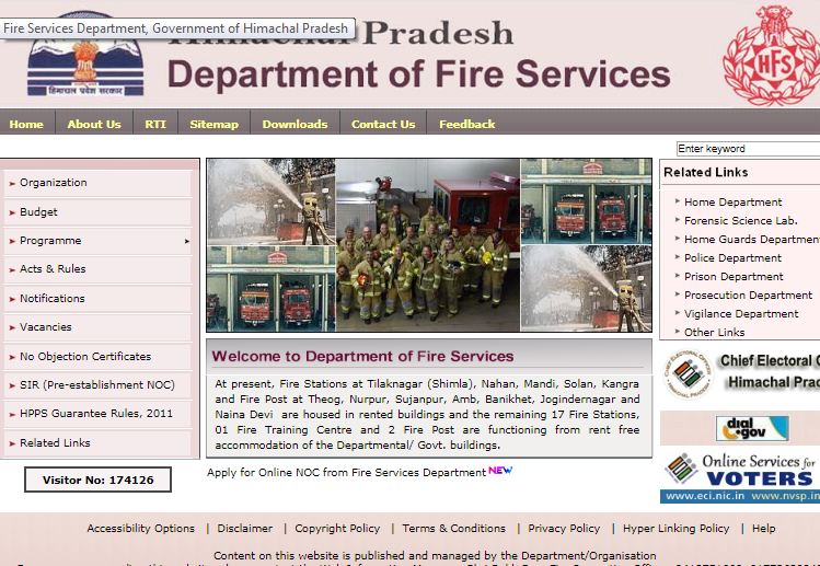 Step 1 - Himachal Pradesh Fire License