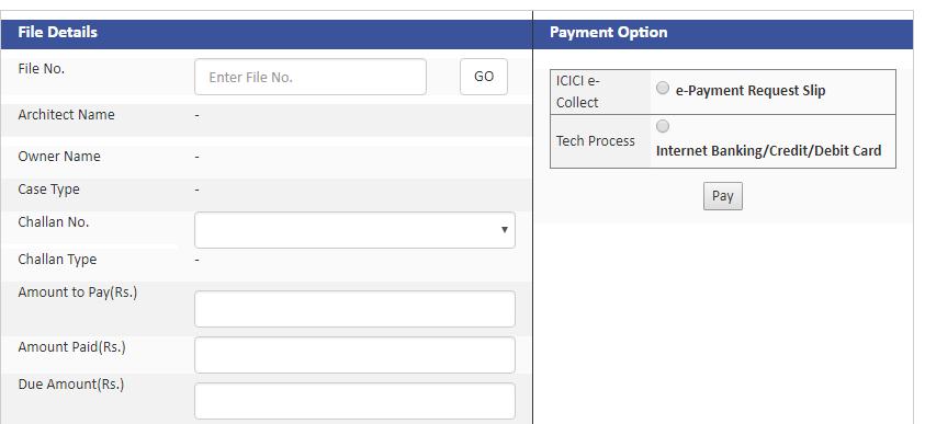 Step 1 Telangana Occupancy Certificate