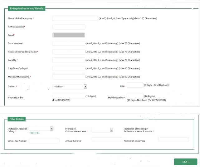 Step 7 Telangana Professional Tax