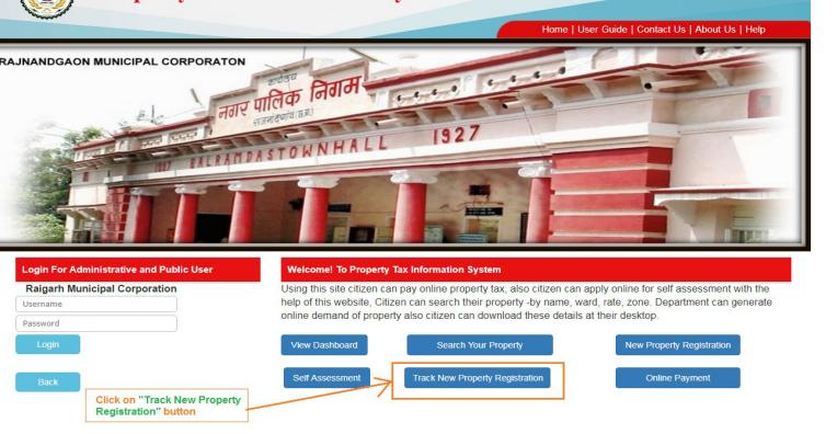 Chhattisgarh Property Registration - Track Application