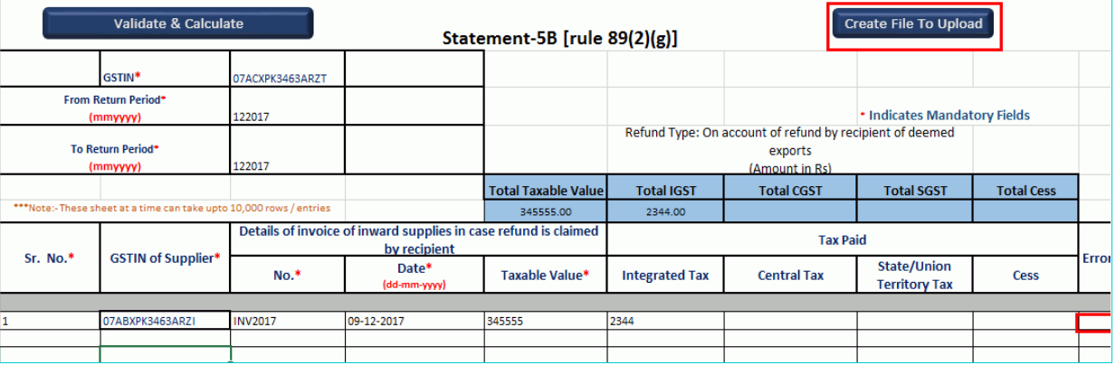 GST Refund - Deemed Exports - Image 6