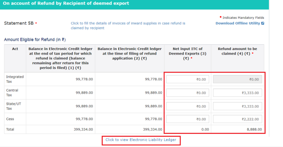 GST Refund - Deemed Exports - Image 9