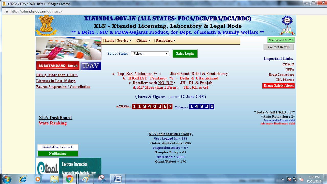 Image 1 Chhattisgarh Drug License