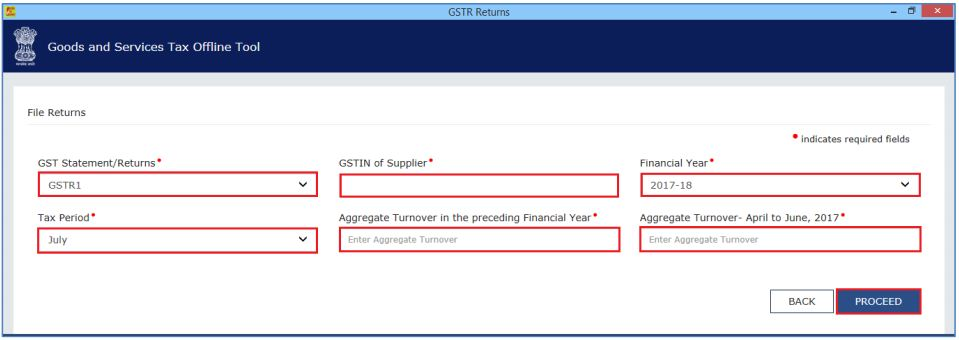 Image 1 Filing Table 6A of GSTR 1
