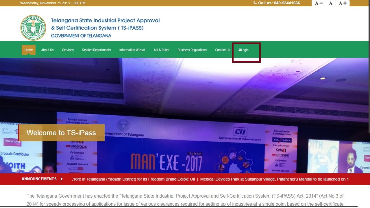 Image 1 Telangana Factory Registration