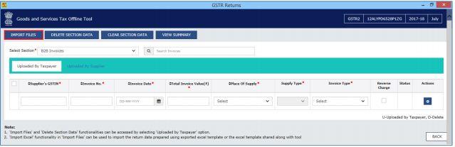 Image 10 Export to Excel Feature in Return Offline Tool
