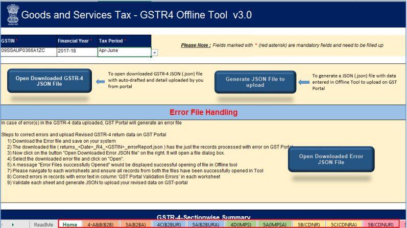 Image 10 GSTR 4 ReturnFiling