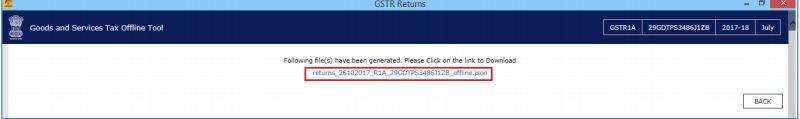 Image 20 Modifying GSTR 1A Return