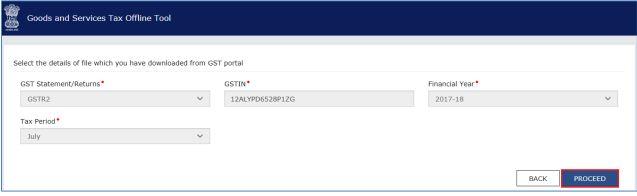 Image 3 Export to Excel Feature in Return Offline Tool