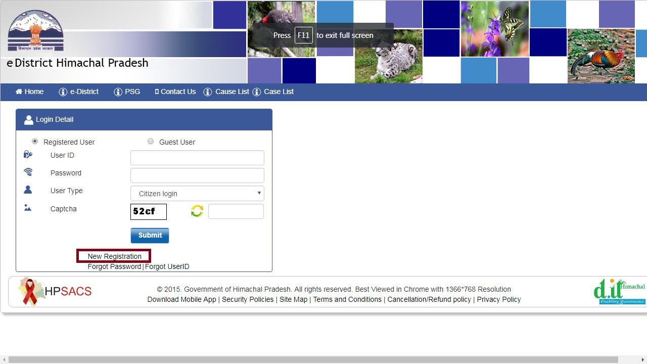 Image 3 Himachal Pradesh Minority Certificate