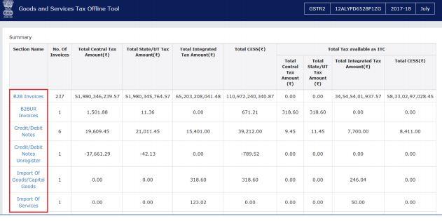 Image 4 Export to Excel Feature in Return Offline Tool