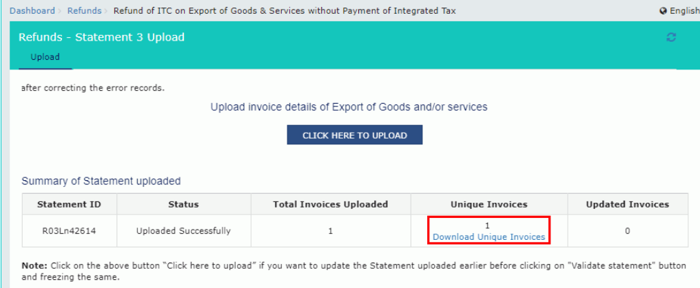 Input Tax Credit Refund - Exports- Image 6