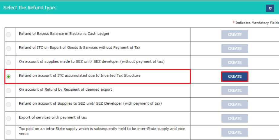 Input Tax Credit Refund - Inverted Tax Structure- Image 2