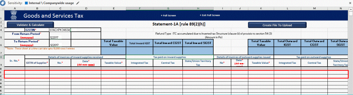Input Tax Credit Refund - Inverted Tax Structure- Image 6