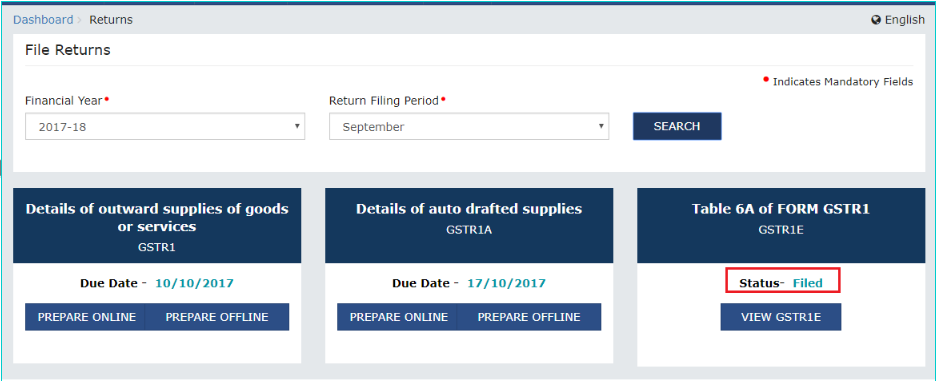 Exports-GST-Refund-View-Status