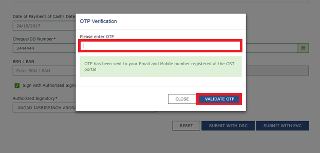 Step 11-X - Filing GST Payment Related Grievances