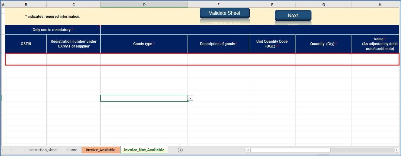 Step 12- Offline Filing of Form GST ITC-03