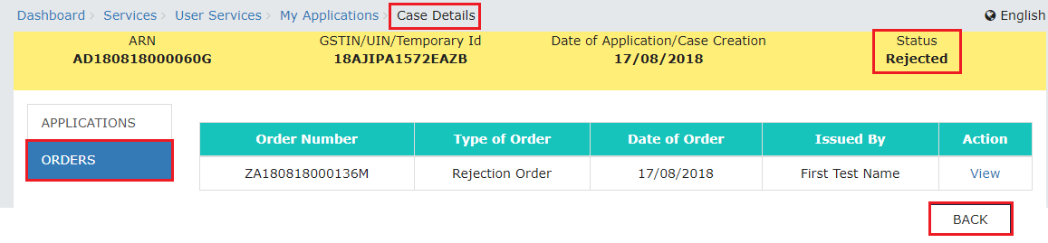 Step 2-Applying for Deferred Payment of GST