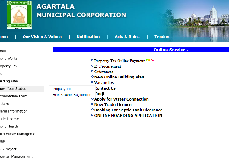 Step 2 - Tripura Trade License