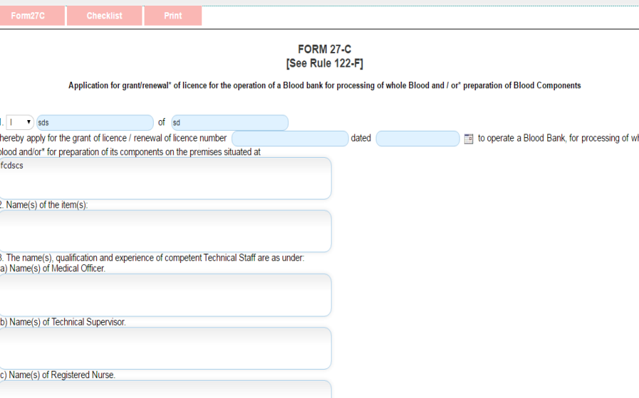 Step 31 - Odisha Drug License