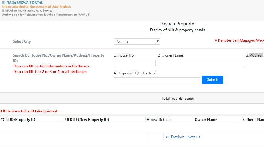 Step 5 - Uttar Pradesh Property Tax